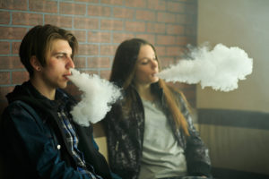 Blown up in smoke: Young adults who vape at greater risk of COVID symptoms
